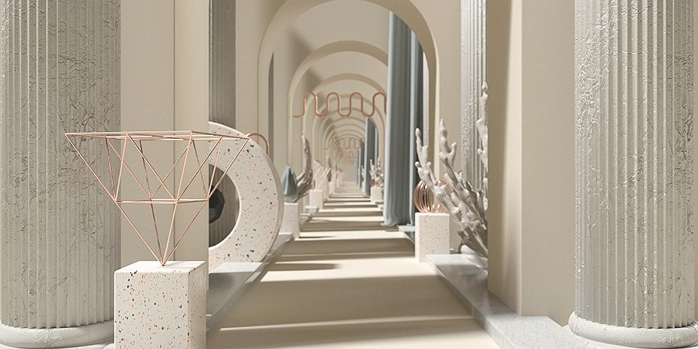 Infinite Art Corridor